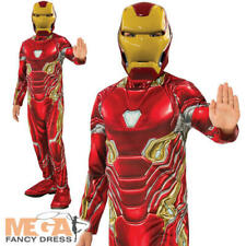 Iron Man Mark 50 Suit Boys Fancy Dress Avengers Endgame Superhero Kids Costume