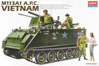 Academy 13266 1/35 Scale Plastic Model Kit M113A1 Vietnam War Tank NEW