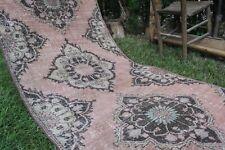 """Long Vintage Handmade Turkish Oushak  Runner Rug Carpet 166""""x39"""""""