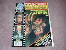 FANGORIA # 42, Company of Wolves, Stephen King, Chris Lee, FREE SHIPPING USA