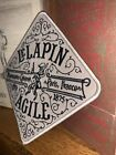 Embroidered Patch LELAPIN AGILE Coaster Inspired By Jock Lindsey Hanger Bar
