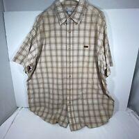 Carhartt Men's Button Dual Pocket Plaid Shirt 2XL Multicolor Great Condition