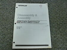 Caterpillar Cat 3306T Engine Disassembly & Assembly Shop Service Repair Manual