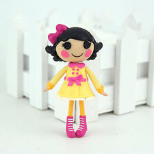 Cute Yellow dress 3Inch Original MGA Lalaloopsy Dolls Mini Dolls For Girl'sToy