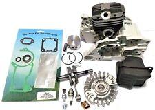 cylinder kit for Stihl 044 ms440, 50mm + crankcase  gasket set Muffler Flywheel