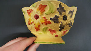 Hand Painted Flower Vase Made in England