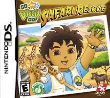Go Diego Go Safari Rescue NINTENDO DS/LITE/DSI/3DS 2DS/XL Niños Niños