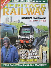 HERITAGE RAILWAY THE COMPLETE STEAM NEWS MAGAZINE ISSUE 124 MAY 12 2009
