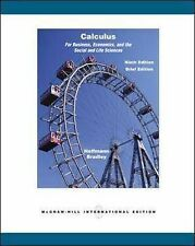Calculus for Business, Economics, and the Social and Life Sciences by Hoffmann,