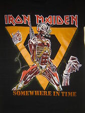 Vintage Concert T-Shirt IRON MAIDEN 88 NEVER WORN NEVER  WASHED