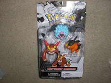 New Pokemon Set of Three Figures Tepig Woobat and Darmanitan