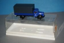 BOX10 Brekina 4015 1/87 Mercedes-Benz L 311 Pritsche/Plane THW -OVP-