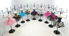 """Mannequin Jewelry Holder 10"""" Lady Earring Bracelet Necklace Ring Display Stand"""