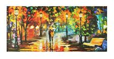 Modern Art Painting Sticker Poster Without Frame (24 X 48 Inches)