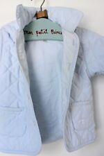 EMILE ET ROSE süße Jacke hellblau gesteppt Gr.: 62  3m