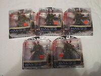 McFarlane Halo 3 Series 3 Flood Combat Human Figure Lot of 5