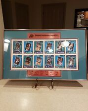 UTAH JAZZ 1997-98 WESTERN CONFERENCE CHAMPIONS CUSTOM FRAMED PICTURE AUTOGRAHS