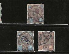 Thailand Classics.#87-89.Used.1899 /1904.Scv $65.00