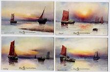 Raphael Tuck - M Morris Marine Studies Limited Edition Proof Set in card folder