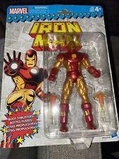 Marvel Legends Vintage Retro IRON MAN New Sealed Figure Hasbro