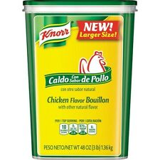 Knorr Caldo de Pollo, Chicken Flavor Bouillon w/natural flavor, 3 lbs