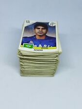 PANINI ITALIA '90 BIG LOT BUNDLE 265 STICKERS VTG UNUSED ALL WITH BACK
