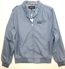 Members Only Mens Slate Blue Original Iconic Racer Jacket NWT $100 Size S