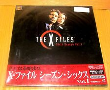 X-FILES LASERDISC BOX SET 6th SEASON Vol 1 BRAND NEW & FACTORY SEALED