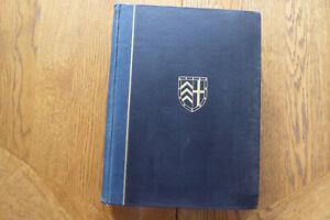 Clare College 1326-1926 Volumes 1 & II Vintage Cambridge University History Book