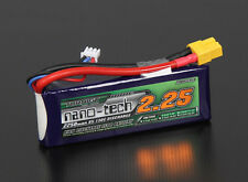 RC Turnigy nano-tech 2250mah 2S 65~130C Lipo Pack