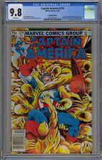 Captain America #276 CGC 9.8 NM/MT Wp Marvel Comics 1982 Canadian Price Variant