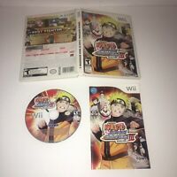 Naruto Shippuden: Clash of Ninja Revolution III CIB & Tested(Nintendo Wii, 2009)