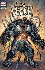 Venom #1 (Tyler Kirkham Exclusive Hulk #1 Homage Variant)(2021) Comic ~ Marvel