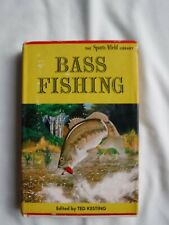 """BOOK """"BASS FISHING"""" EDITED BY TED KESTING © 1962"""