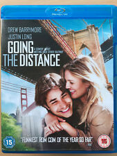 Drew Barrymore Justin Long GOING THE DISTANCE ~ 2010 Romantic Comedy UK Blu-ray