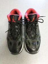 """Nike Air Jordan """"2011 Retro Low"""" black and red basketball shoes Men's 8.5"""