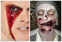 Smiffys Special Effects ZIP FACE SCAR Wound FX Latex Scar Halloween Make Up