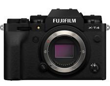 Neue FUJIFILM x-t4 Digitalkamera Body-Schwarz Farbe