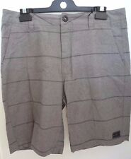 NEW RIP CURL MEN TANIN WALK SHORT 100% Cotton Gray size 32 code 1-71 RP$54.50