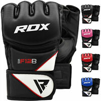 RDX MMA Gloves Grappling Muay Thai Punching Training Martial Arts Sparring New