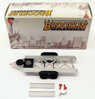 Brooklin Models 1/43 Scale Model BRK109 - Car Trailer Twin Axle - Silver