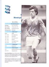 KEVIN DILLON BIRMINGHAM CITY 1977-1983 ORIGINAL HAND SIGNED PICTURE CUTTING