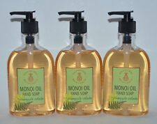 3 BATH & BODY WORKS PINEAPPLE COLADA HAND SOAP WASH WITH MONOIL OIL 8OZ PUMP LOT
