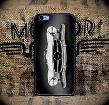 Custom Vintage Silver Mercedes Benz iPhone 6 6S Custom Case