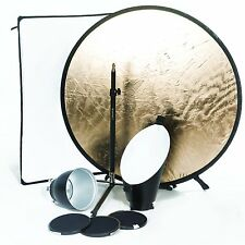 Bowens Bw-6655 Portrait Lighting Reflector Kit (Black)