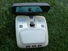 2003-2009 VOLVO XC90 CONSOLE OVERHEAD MAPLIGHT W/MIRROR OEM SEE PHOTO 04