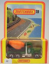 Matchbox Superfast Nr. 19 Peterbilt Cement Truck Nr. 3 Deutsche Hösbach OVP #011