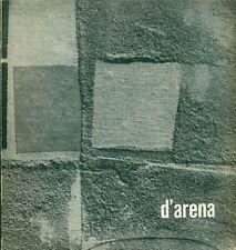 D'ARENA Francesco, D'arena