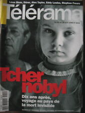 2414 TCHERNOBYL 10 ANS STEPHEN FREARS EDDY LOUISS NOUVELLE ORLEANS TELERAMA 1996