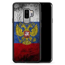 Samsung Galaxy S9+ [Plus] - Hülle SILIKON Cover - Russland Splash Flagge Russia